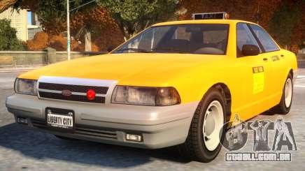 Vapid Stanier 2th gen Taxi para GTA 4
