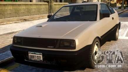 Blista Compact to Honda CRX para GTA 4