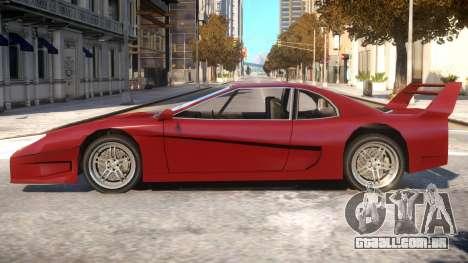 GTA SA Turismo para GTA 4