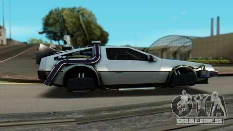 DeLorean DMC-12 Activated para GTA San Andreas