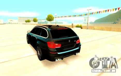 BMW M5 F11 para GTA San Andreas