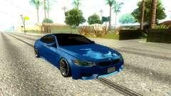 BMW M4 F82 2014 Low Poly para GTA San Andreas