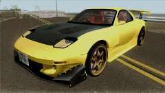 Initial D FD3S Takahashi Keisuke Fifth Stage para GTA San Andreas