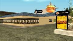 Garcia Burger King Restaurant para GTA San Andreas