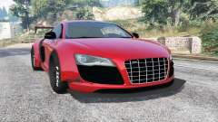 Audi R8 GT 2010 LibertyWalk [replace] para GTA 5
