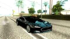 Tesla Model S Low Poly para GTA San Andreas