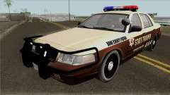 Ford Crown Victoria 2011 Bone County Police para GTA San Andreas