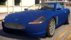 Super GT Aston Martin para GTA 4