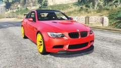 BMW M3 GTS (E92) 2010 red taillight [add-on] para GTA 5