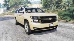Chevrolet Suburban Unmarked Police [replace] para GTA 5