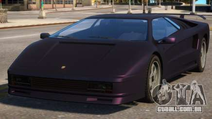 Pegassi Infernus Pop-Up Lights Down para GTA 4