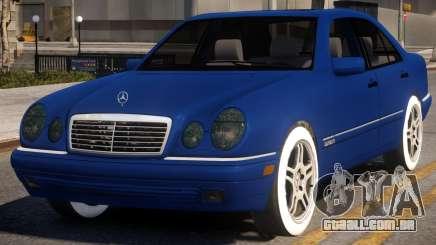 Mercedes-Benz E420 W210 v2 para GTA 4