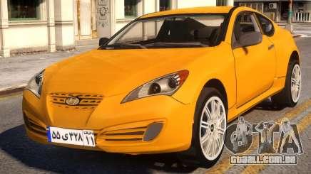Hyundai Genesis Coupe para GTA 4
