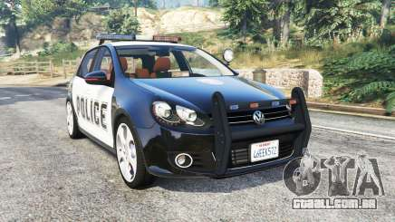 Volkswagen Golf (Typ 5K) LSPD v1.1 [replace] para GTA 5