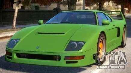 Grotti Turismo Classic Revision Modern Rims para GTA 4
