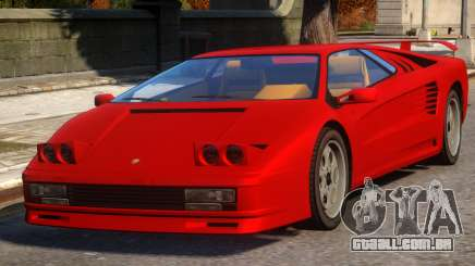 Pegassi Infernus Pop-Up Lights Up para GTA 4