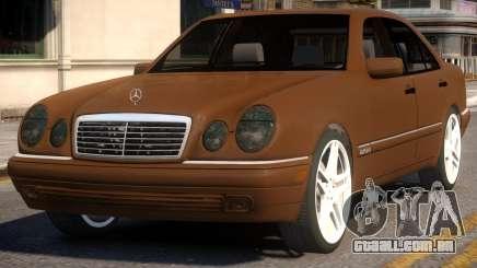 Mercedes-Benz E420 W210 v1 para GTA 4