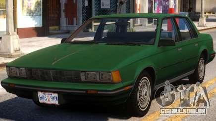 Buick Century 1986 para GTA 4