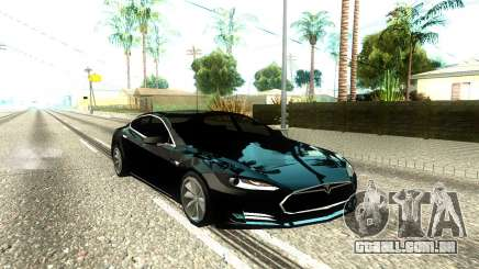 Tesla Model S Low Poly para GTA San Andreas