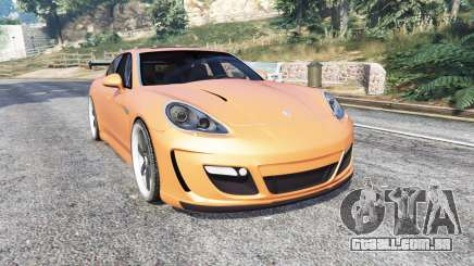 Porsche Panamera Turbo (970) v1.1 [replace] para GTA 5