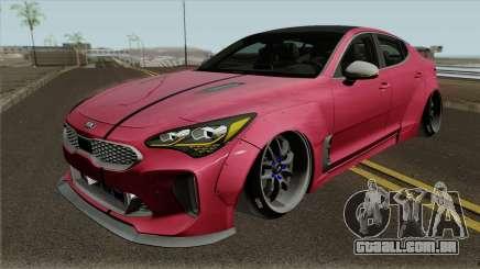 Kia Stinger GT Wide Body Kit 2018 para GTA San Andreas
