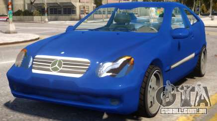 Mercedes-Benz C220 Sports Coupe para GTA 4