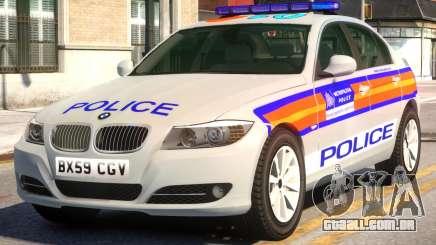 BMW M3 Series Saloon Area Car Slogan Version para GTA 4