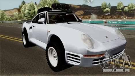 Porsche 959 Rusty Rebel 1987 para GTA San Andreas vista interior