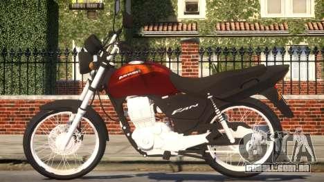 CG 125 FAN para GTA 4