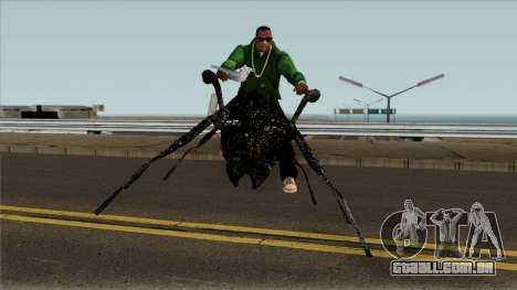 Ant Bike para GTA San Andreas vista traseira