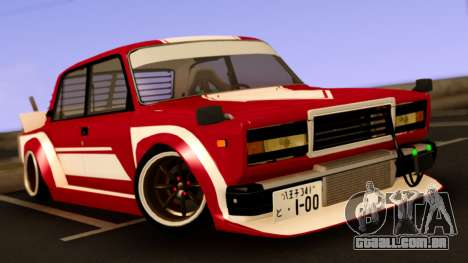 VAZ 2107 Bosozoku Style para GTA San Andreas