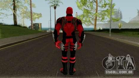 Deadpool Strike Force para GTA San Andreas terceira tela