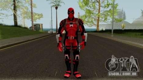 Deadpool Strike Force para GTA San Andreas segunda tela