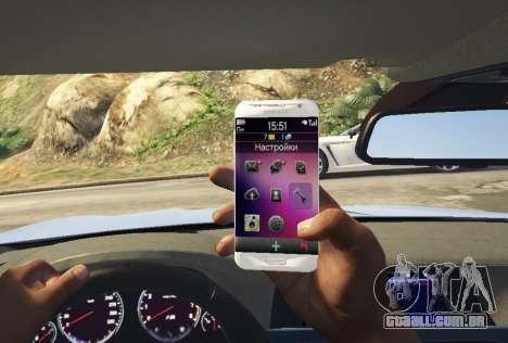 Samsung Galaxy S7 Edge Franklin para GTA 5