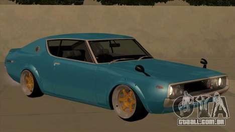 Nissan Skyline GTR 1973 KPGC110 JerryCustoms para GTA San Andreas