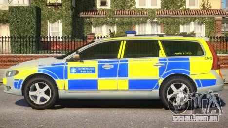 Volvo V70 Blue Soverign Version para GTA 4