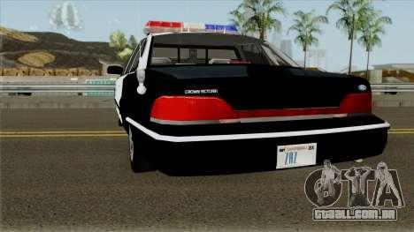 Ford Crown Victoria 1994 Resident Evil 3 para GTA San Andreas