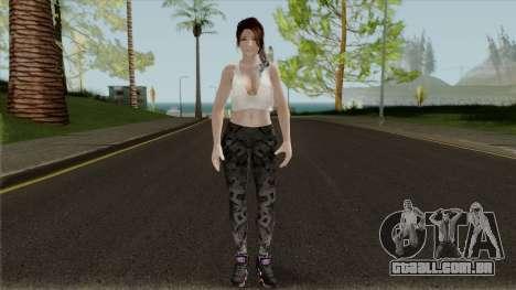 Hitomi Casual para GTA San Andreas