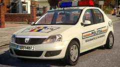 Dacia Logan Police para GTA 4