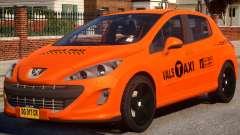 Peugeot Taxi VALS para GTA 4