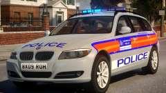 Metropolitan BMW 3 Series ANPR Version para GTA 4