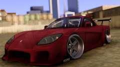 Mazda RX-7 Veilside Touge para GTA San Andreas