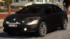 Renault Fluence Civil Polis para GTA 4