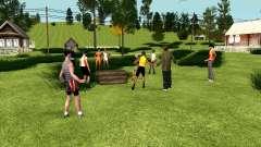 Festa na aldeia (GTA Penal Rússia) para GTA San Andreas