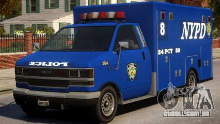 Police NYPD Van para GTA 4