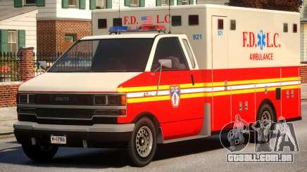 Ambulance FDLC para GTA 4