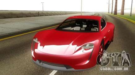 Porsche Mission E Hybrid Concept para GTA San Andreas