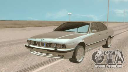 BMW M5 E34 Stock para GTA San Andreas