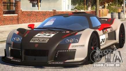 2011 Gumpert Apollo S N24 para GTA 4