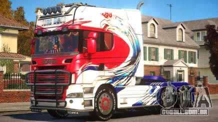 Scania R580 Longline Custom PJ6 para GTA 4